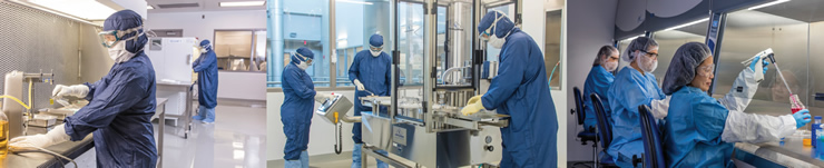 3 Pictures of Aseptic Processing