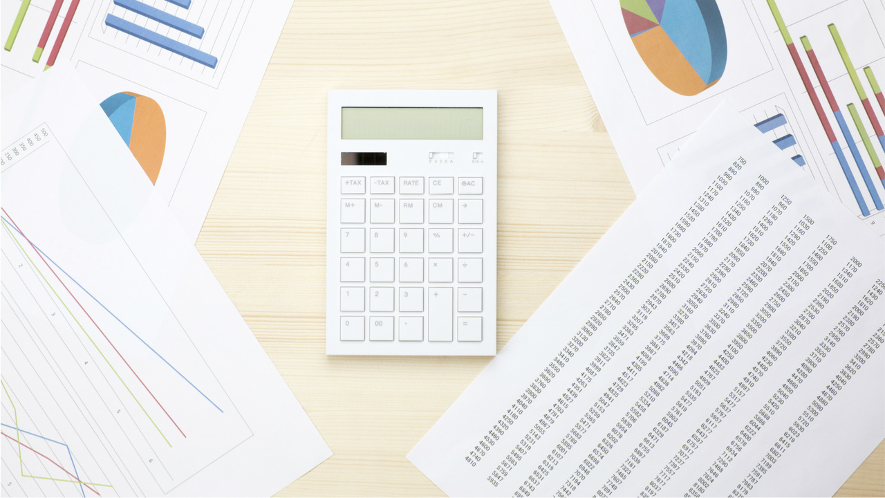 Documents and calculator