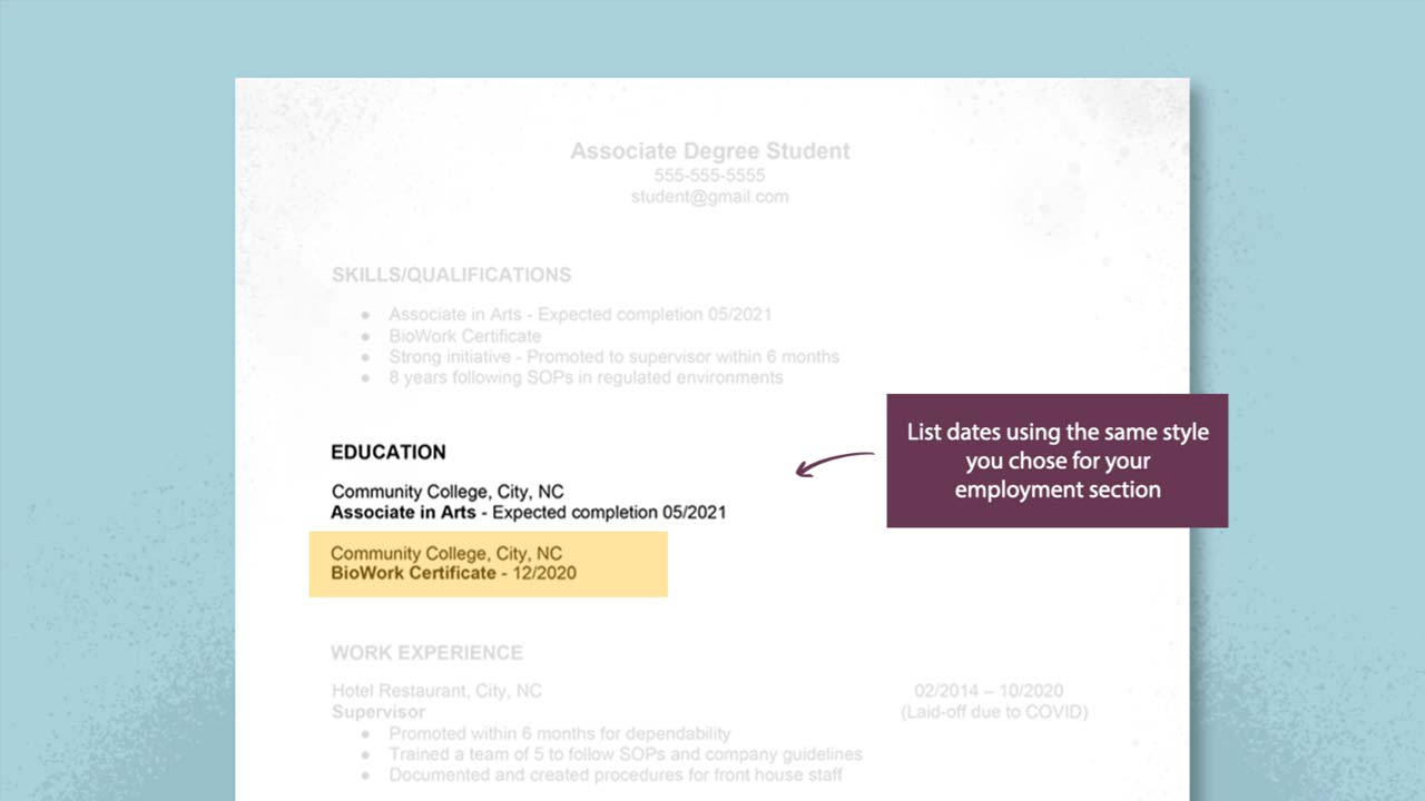Creating Your Biopharma Resume: Part 4 – Highlight Your Education