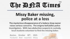 Missy Baker is Missing!