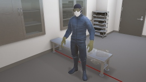 Sterile Gowning Procedures
