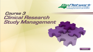 Clinical Research Study Management