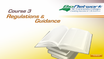 Regulations and Guidance