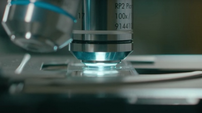 Oil Immersion Microscopy Animation
