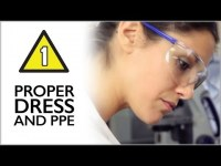 Lab Safety Lesson 1: Proper Dress and PPE